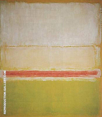 Reproduction of No 2 7 2 1951 by Mark Rothko | Oil Painting Replica On CanvasReproduction Gallery