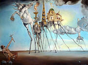The Temptation of St. Anthony 1946 By Salvador Dali