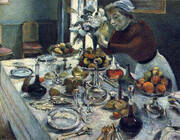 The Dinner Table 1896 By Henri Matisse