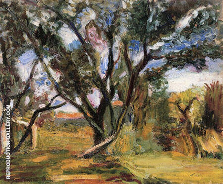The Olive Tree 1896 By Henri Matisse - Oil Paintings & Art Reproductions - Reproduction Gallery