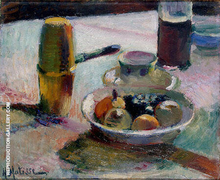 Fruit and Coffee Pot 1899 By Henri Matisse