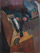 Interior with Harmonium By Henri Matisse