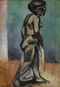 Standing Model Nude in Blue 1900 By Henri Matisse