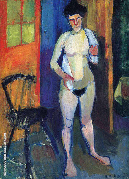 Nude with a White Towel 1902 By Henri Matisse