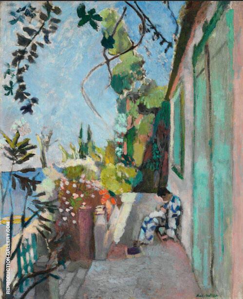 The Terrace Saint Tropez 1904 Painting By Henri Matisse