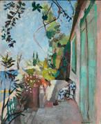 The Terrace Saint Tropez 1904 By Henri Matisse