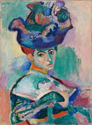 The Woman with a Hat 1905 By Henri Matisse