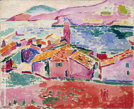 View of Collioure 1905 By Henri Matisse - Oil Paintings & Art Reproductions - Reproduction Gallery
