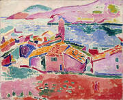 View of Collioure 1905 By Henri Matisse