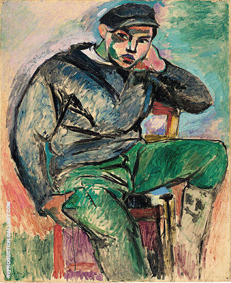 The Young Sailor I 1906 By Henri Matisse