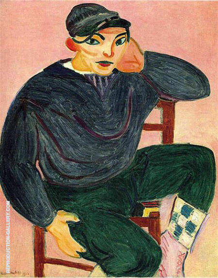 The Young Sailor II 1906 Painting By Henri Matisse - Reproduction Gallery