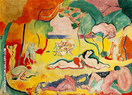 The Joy of Life 1905 Painting By Henri Matisse - Reproduction Gallery
