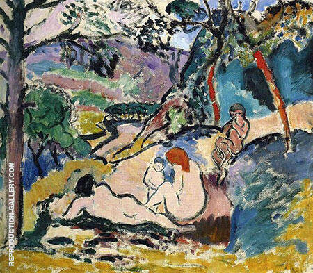 Pastoral 1906 By Henri Matisse - Oil Paintings & Art Reproductions - Reproduction Gallery