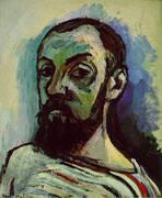 Self Portrait 1906 By Henri Matisse