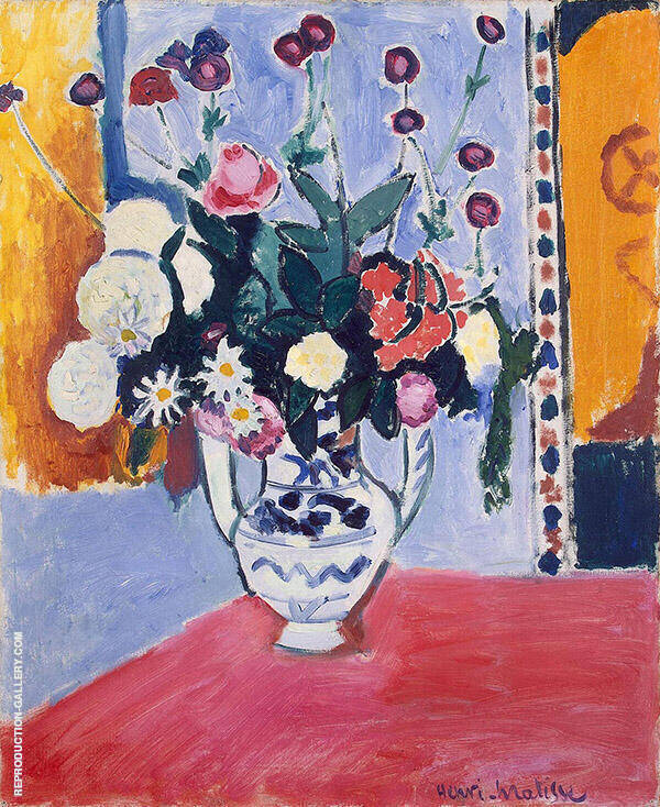 Vase with Two Handles 1907 Painting By Henri Matisse