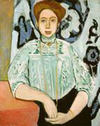Portrait of Greta Moll 1908 By Henri Matisse