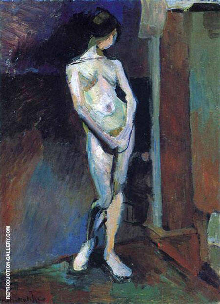 Standing Nude 1906 Painting By Henri Matisse - Reproduction Gallery