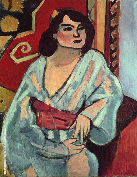 Algerian Women 1909 Painting By Henri Matisse - Reproduction Gallery