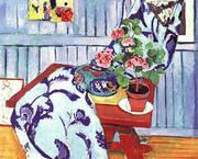 Still Life with a Geranium 1910 By Henri Matisse