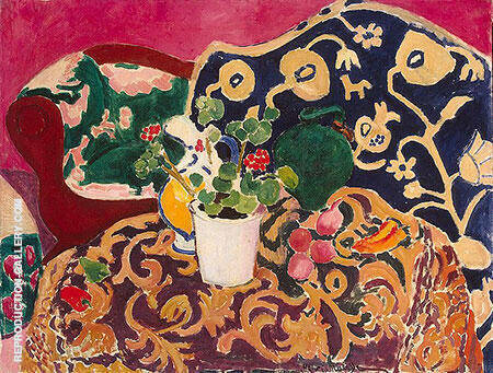 Spanish Still Life 1910 Painting By Henri Matisse - Reproduction Gallery