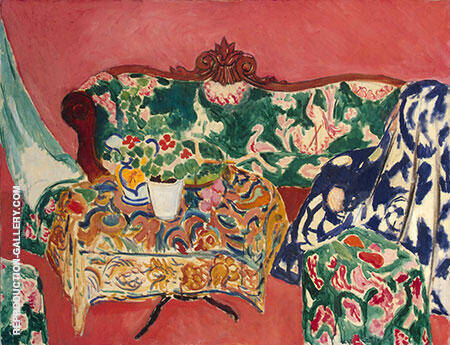 Seville Still Life 1910 By Henri Matisse Replica Paintings on Canvas - Reproduction Gallery