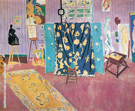 The Pink Studio 1911 Painting By Henri Matisse - Reproduction Gallery