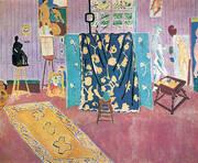 The Pink Studio 1911 By Henri Matisse