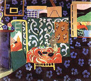 Interior with Aubergines 1911 By Henri Matisse
