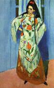 The Manila Shawl 1911 By Henri Matisse