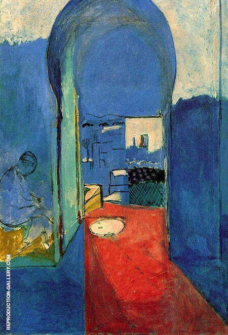 The Casbah Gate 1912 By Henri Matisse Replica Paintings on Canvas - Reproduction Gallery