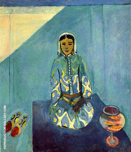 Zorah on the Terrace 1912 By Henri Matisse