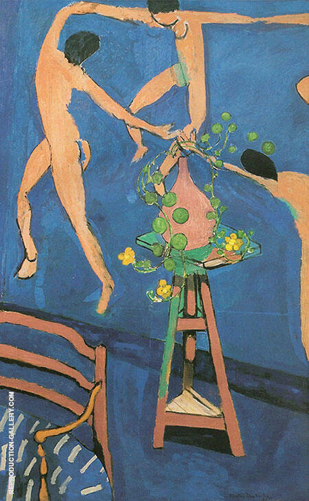 Nasturtiums with Dance II 1912 Painting By Henri Matisse