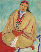 The Yellow Robe Zorah 1912 By Henri Matisse