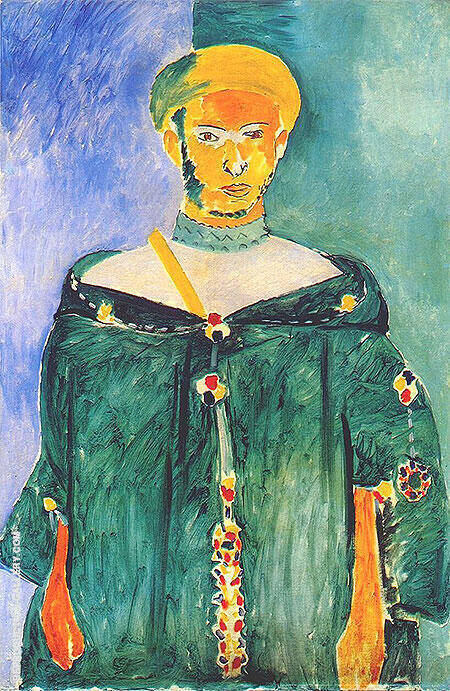 The Standing Riffian 1912 By Henri Matisse Replica Paintings on Canvas - Reproduction Gallery