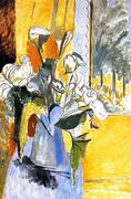 Bouquet of Flowers on a Veranda 1912 By Henri Matisse