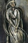 Portrait of Mlle Yvonne Landsberg 1914 By Henri Matisse