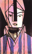 White and Pink Head 1914 By Henri Matisse