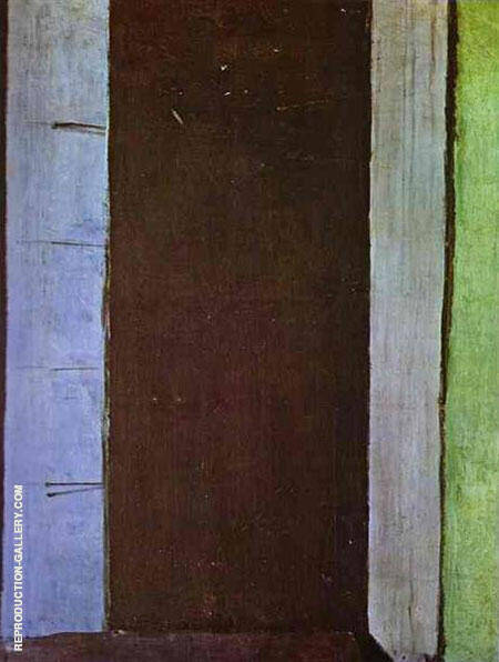 French Window at Collioure 1914 By Henri Matisse Replica Paintings on Canvas - Reproduction Gallery