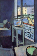 Interior with a Goldfish Bowl 1914 By Henri Matisse