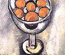 A Vase with Oranges 1916 By Henri Matisse