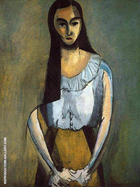 The Italian Woman 1916 By Henri Matisse