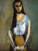 The Italian Woman 1916 By Henri Matisse