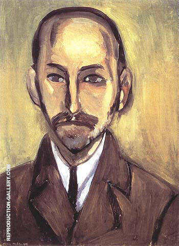 Portrait of Michael Stein 1916 By Henri Matisse
