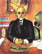 Portrait of Auguste Pellerin I 1916 By Henri Matisse