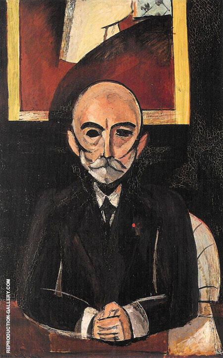 Portrait of Auguste Pellerin II 1917 By Henri Matisse