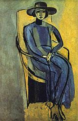 Portrait of Greta Prozor 1916 By Henri Matisse