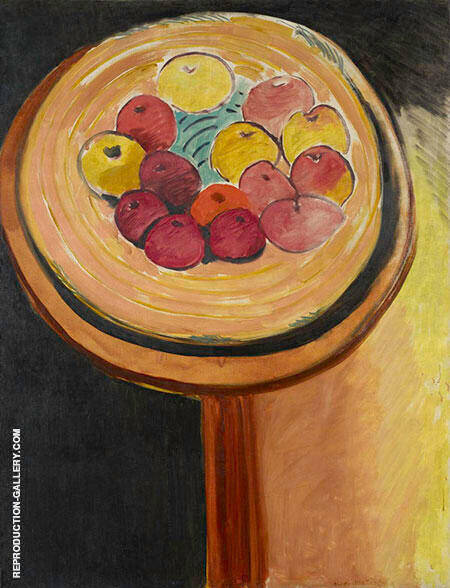 The Apples 1916 Painting By Henri Matisse - Reproduction Gallery
