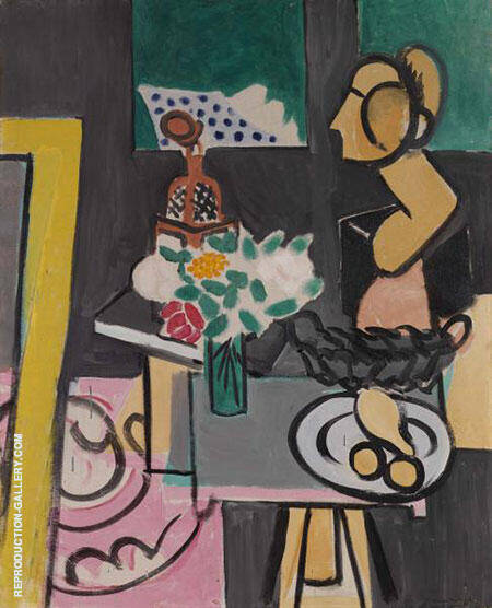 Still Life with a Plaster Bust 1916 By Henri Matisse - Oil Paintings & Art Reproductions - Reproduction Gallery