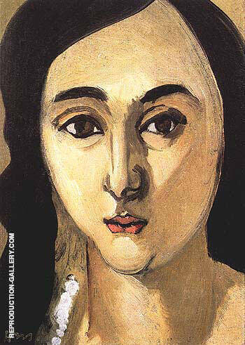 Laurette 1916 By Henri Matisse