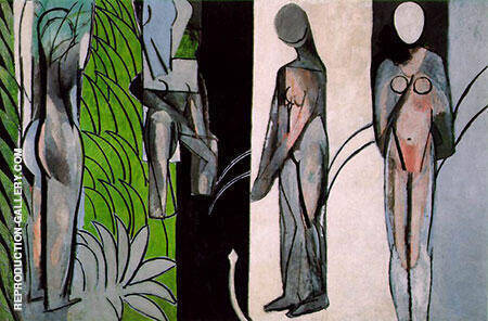 Bathers by a River 1916 By Henri Matisse - Oil Paintings & Art Reproductions - Reproduction Gallery